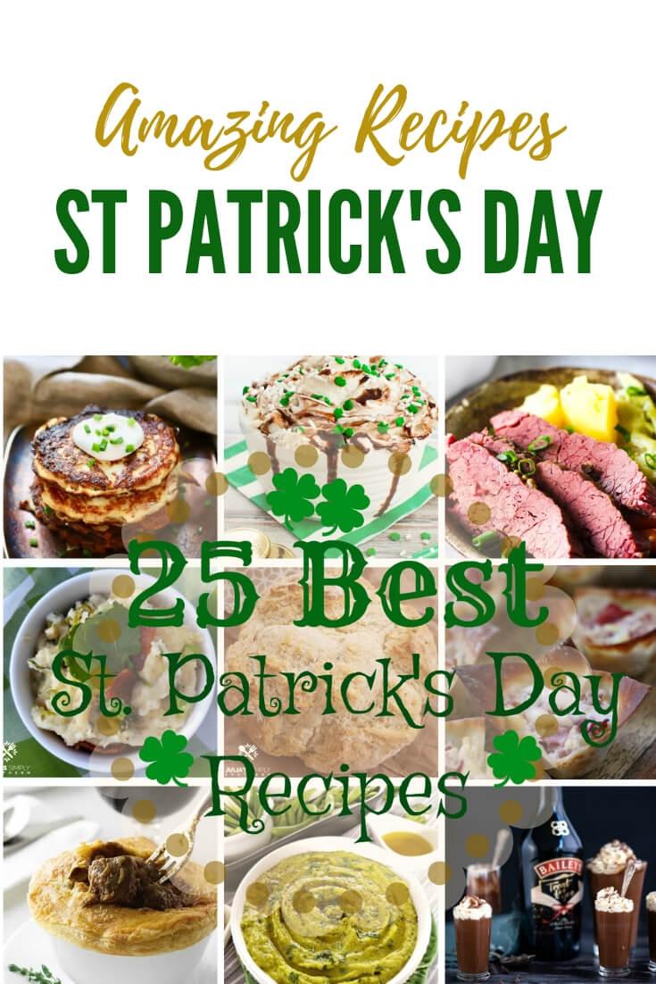 25 Best St. Patrick's Day Recipes #StPatricksDay