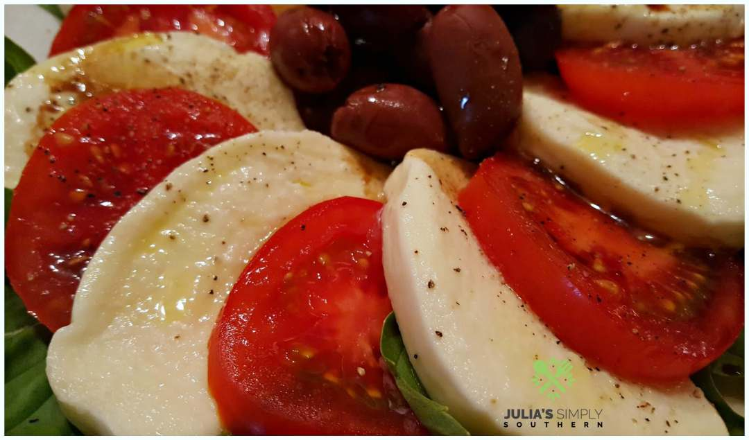 Caprese Salad with balsamic