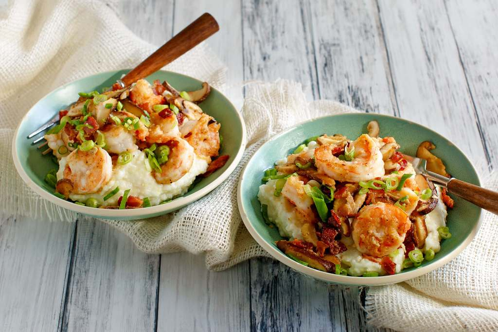 Low country shrimp and grits - Julia's Simply Southern