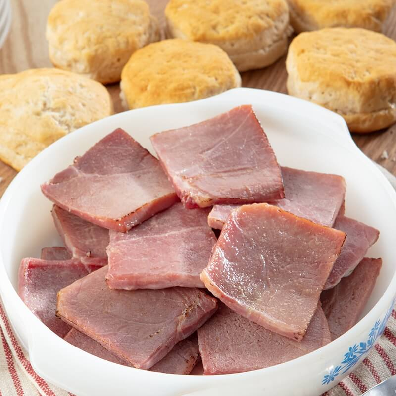 Clifty Farm Country Ham Biscuit Portions