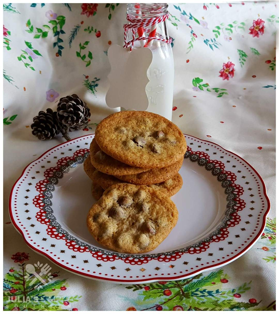 Scratch made chocolate chip cookies recipe