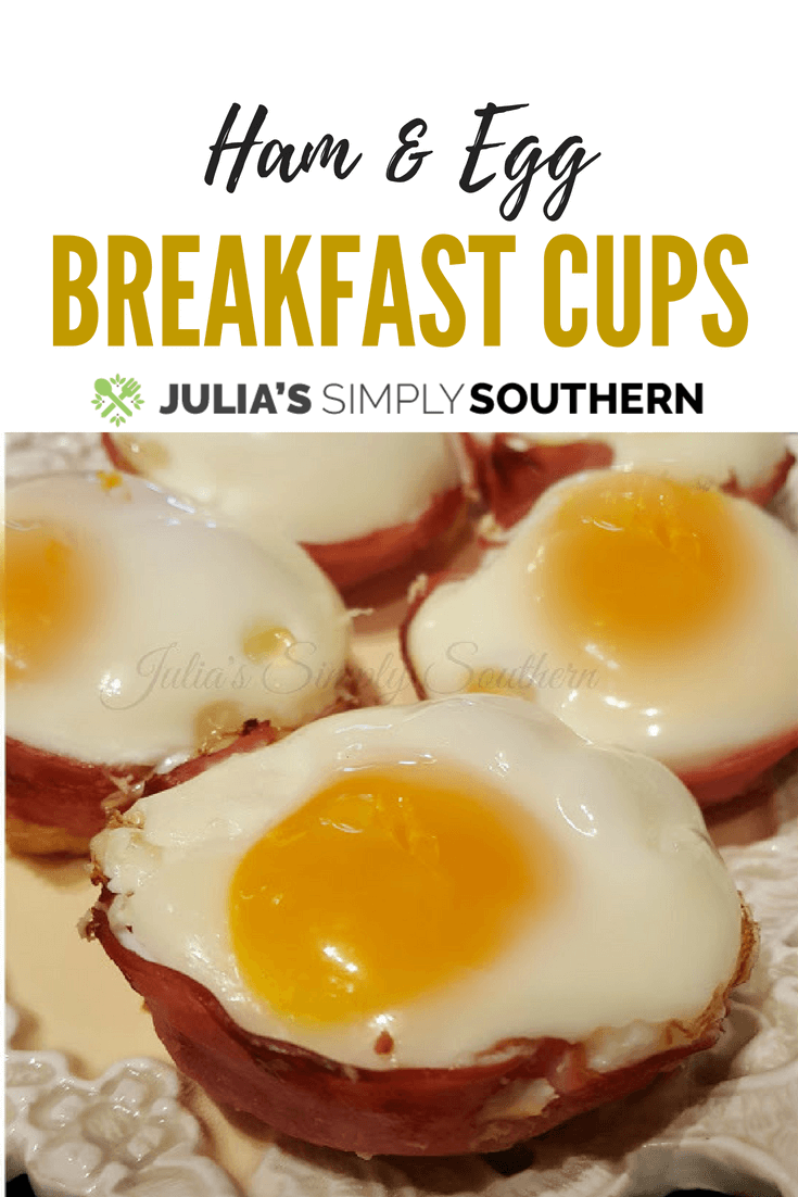 Ham and Egg Breakfast cups are breakfast muffins made with fresh eggs and perfect for busy mornings. Kid friendly and delicious #breakfast #brunch #EasyRecipe