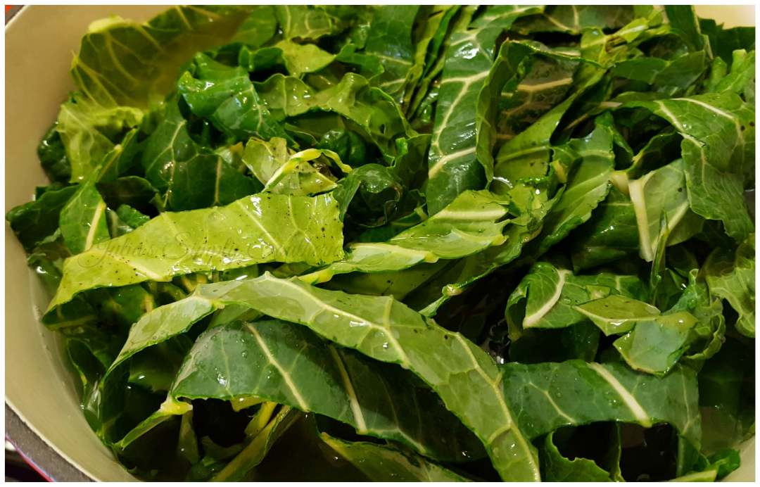 Southern Collard Greens for New Year's Meal
