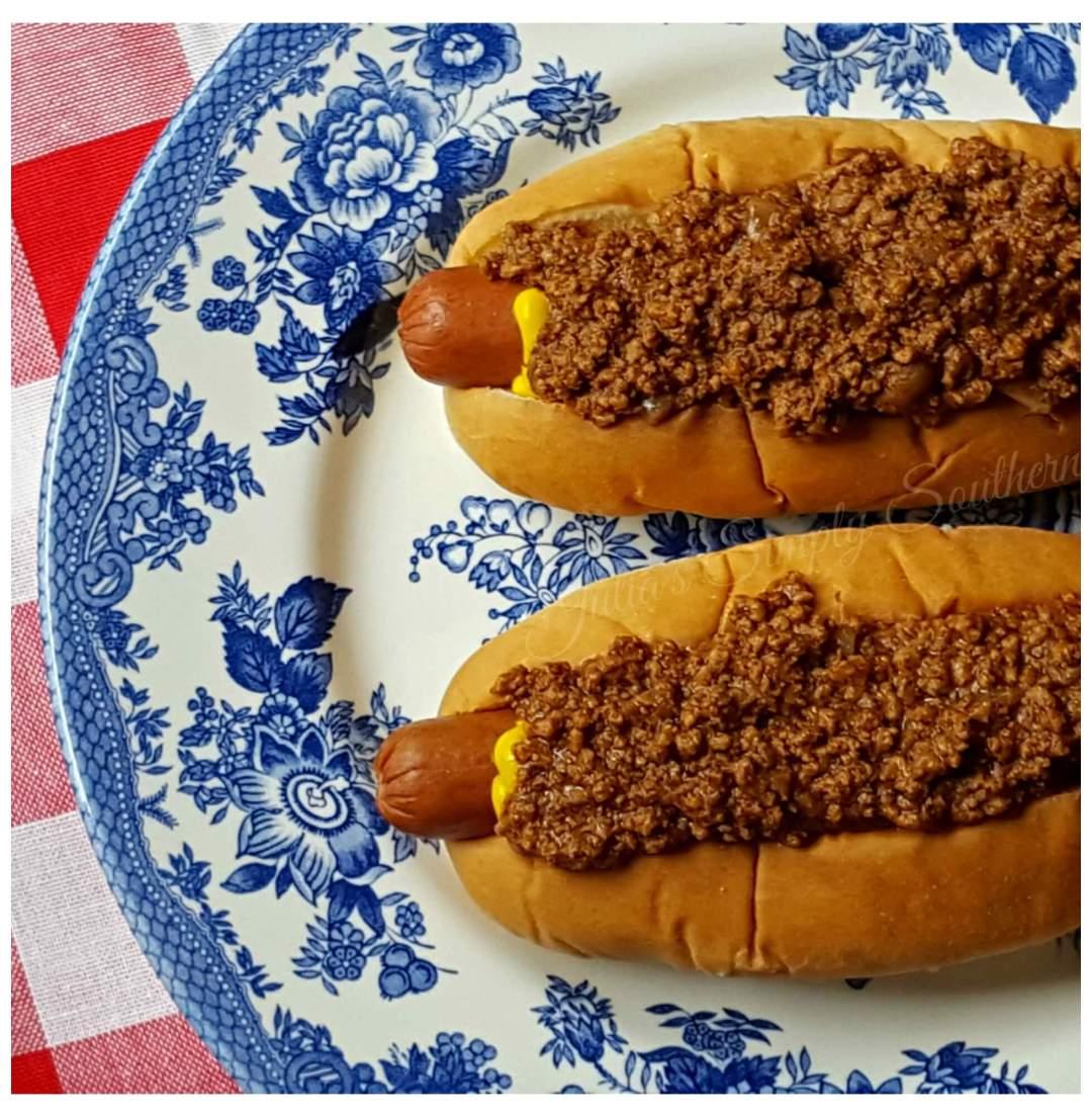 Southern Hot Dog Chili Sauce Recipe