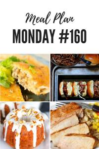 Pinterest - Free Meal Planning Recipes - Meal Plan Monday #160