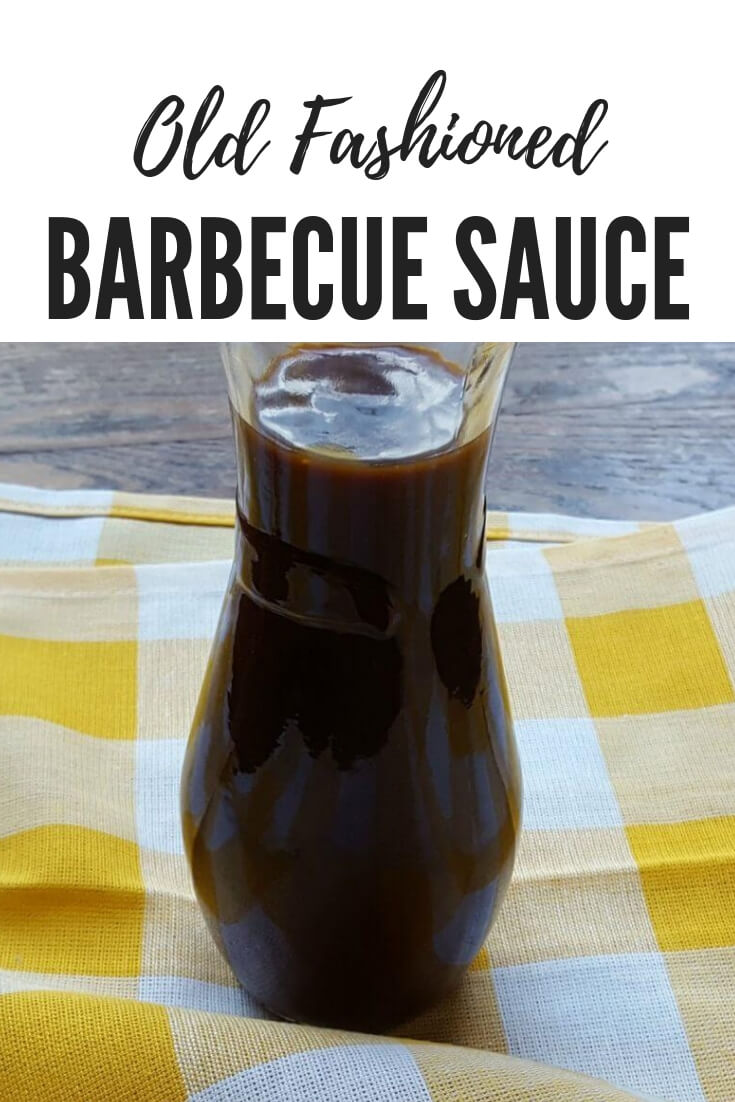 Sweet and Spicy Old Fashioned BBQ sauce recipe, just like grandma used to make. This simple recipe includes molasses and a few other ingredients that are just combined together - no cooking required #Sauces #Barbecue #EasyRecipe #Grilling