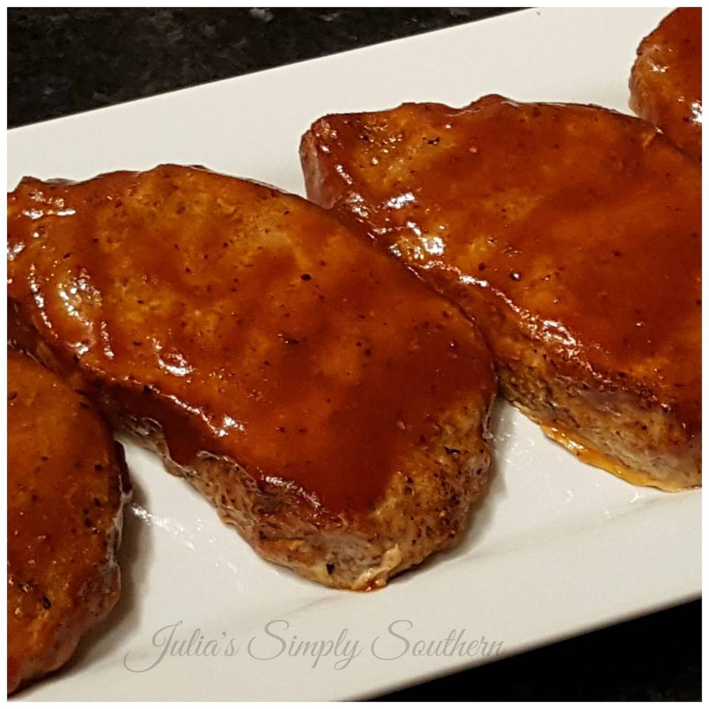 Oven Baked Pork Chops Barbecue