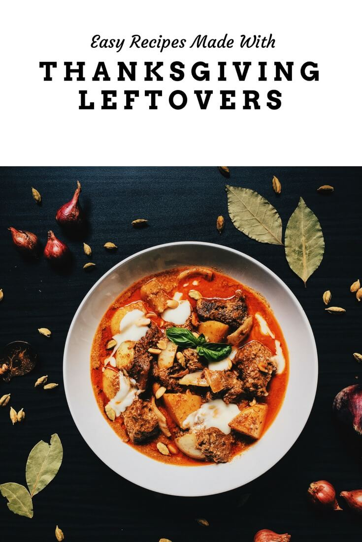 Recipes using Thanksgiving Leftovers - #Thanksgiving #Leftovers #recipes #delicious