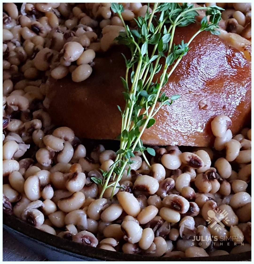 Ham Hock and peas