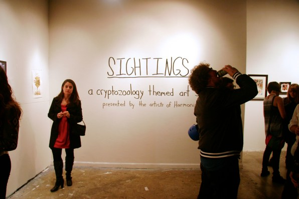 """Sightings: A Cryptozoology themed art show"""