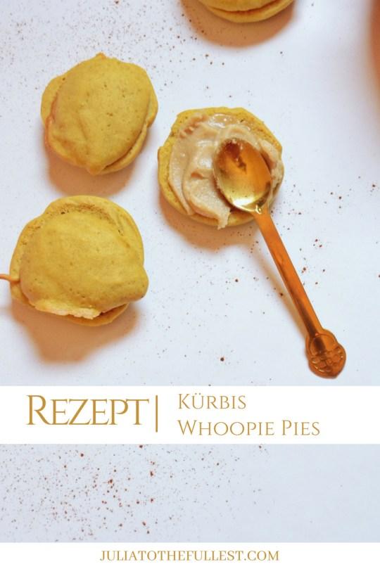 Rezept für leckere Pumpkin Whoopie Pies - Kürbis whoopie pies amerikanisch backen (3)