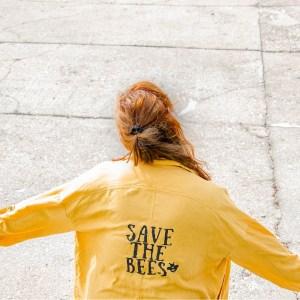 Save the bees Aufdruck selber machen | So bedruckst du Kleidung selbst | mit Vorlage zum Ausdrucken