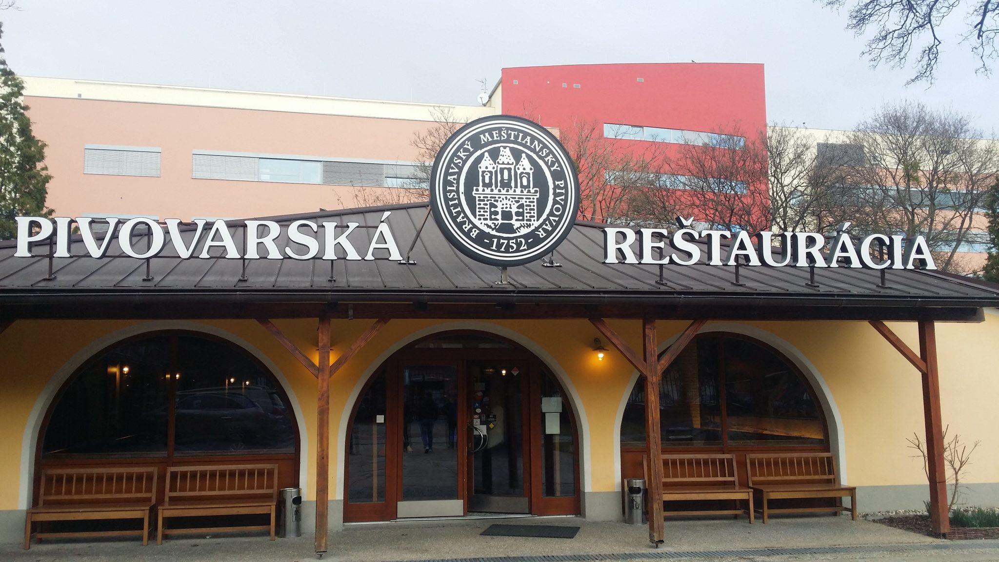 restaurant, Bratislava
