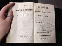 1779, the oldest book I held in my hands today.