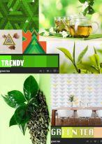 Green Tea mood board