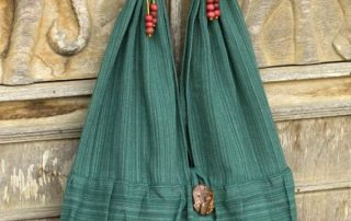 Emerald Thai Elephant Bag