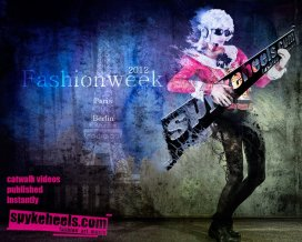 Spykeheels promo fashionweek