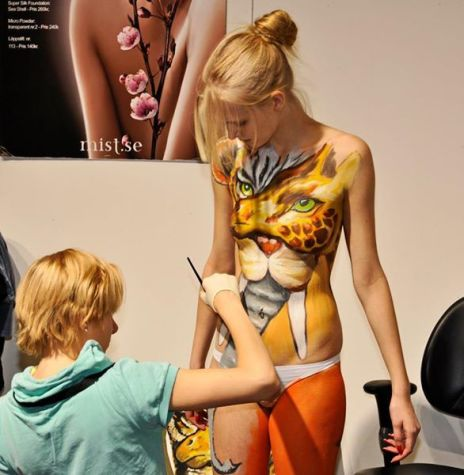 2011 Mist Stockholm Bodypainting Competition