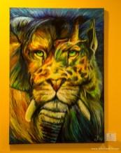 oil / 100 x 70 cm