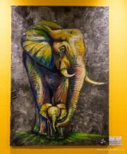 oil, graphit / 100 x 70 cm