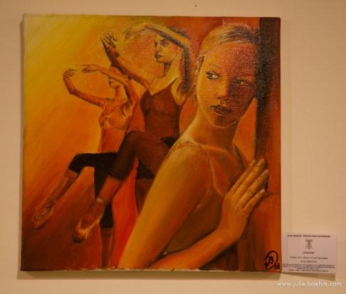 oil / 40 x 40 cm
