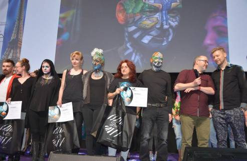 French Face Painting Award(1)