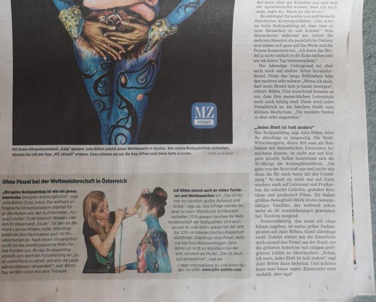 Mitteldeutsche Zeitung 2019 cv