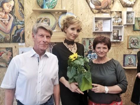 Mit den Geschäftführern der Station29 Hans Schubert und Diana Behrendt