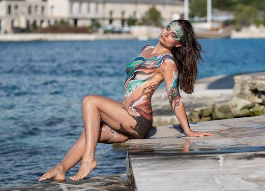 kroatien_bodypainting julie boehmart