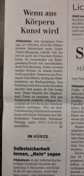 Live Painting Hildesheim 24.Okt 2019