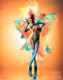 WBF-2019-artist-Alla-Krasnova-model-Letizia-Borella
