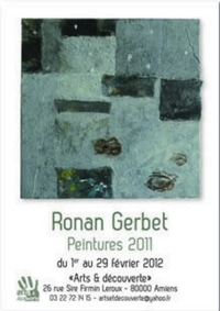 Exposition Ronan Gerbet, Arts & Découverte
