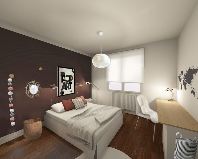 Une chambre pourpre très absorbante