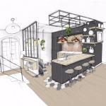 Conseil déco – Le charme d'une cuisine ouverte