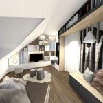 Repenser la décoration d'un étage : salon, chambres et salle de bain