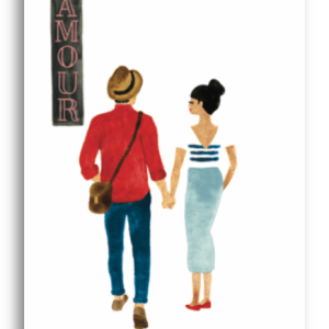 carte postale lovers