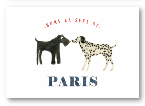 Carte postale Paris All the Ways to say