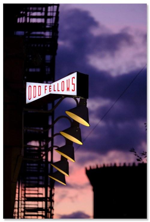 photographie de New York Purple Twilight