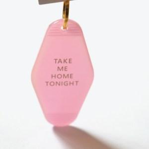 porte clé motel rose