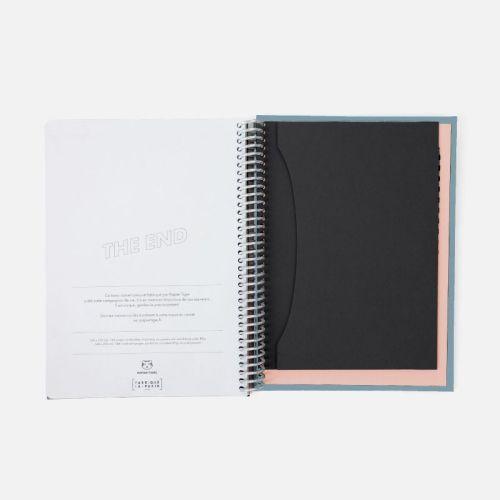 enveloppe intégrée au cahier