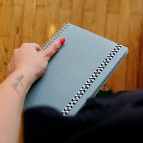 cahier porté taille A5