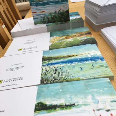 Square greeting cards