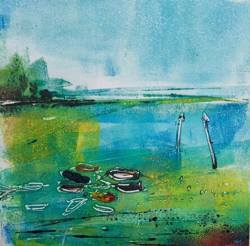 Emsworth Mini Monoprint 1