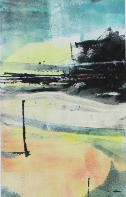 Hayling Sunset, Julie Turner crop