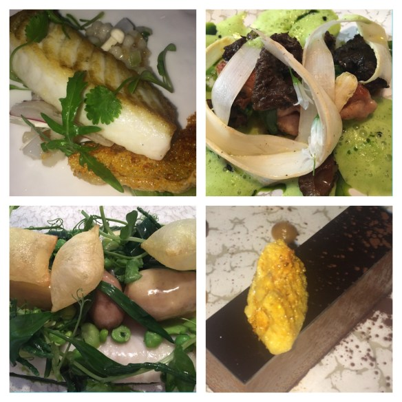 the amazing food at pied a terre