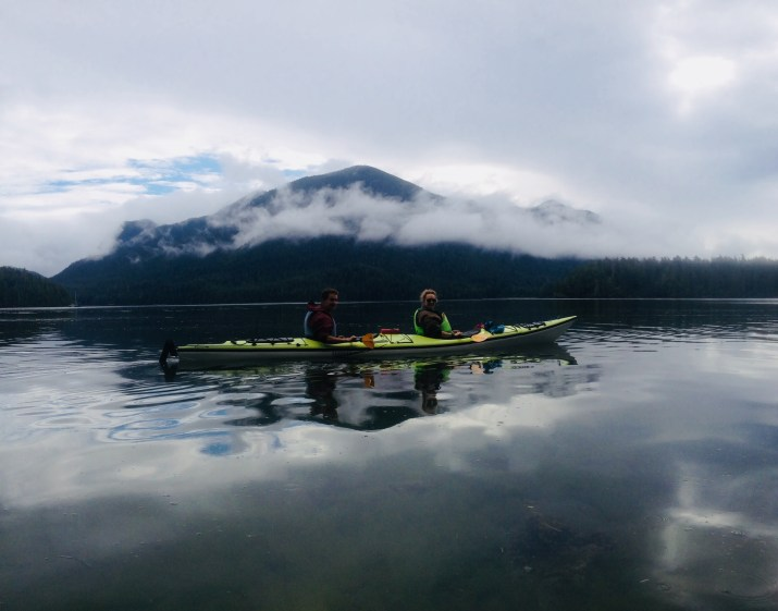 the morning kayak