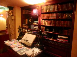 a nook in the bar