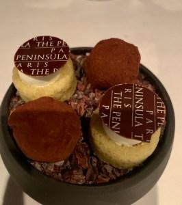 wonderful treats ate the peninsula paris