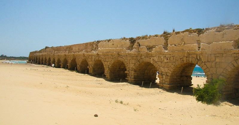caesara aqueduct by dana friedlander