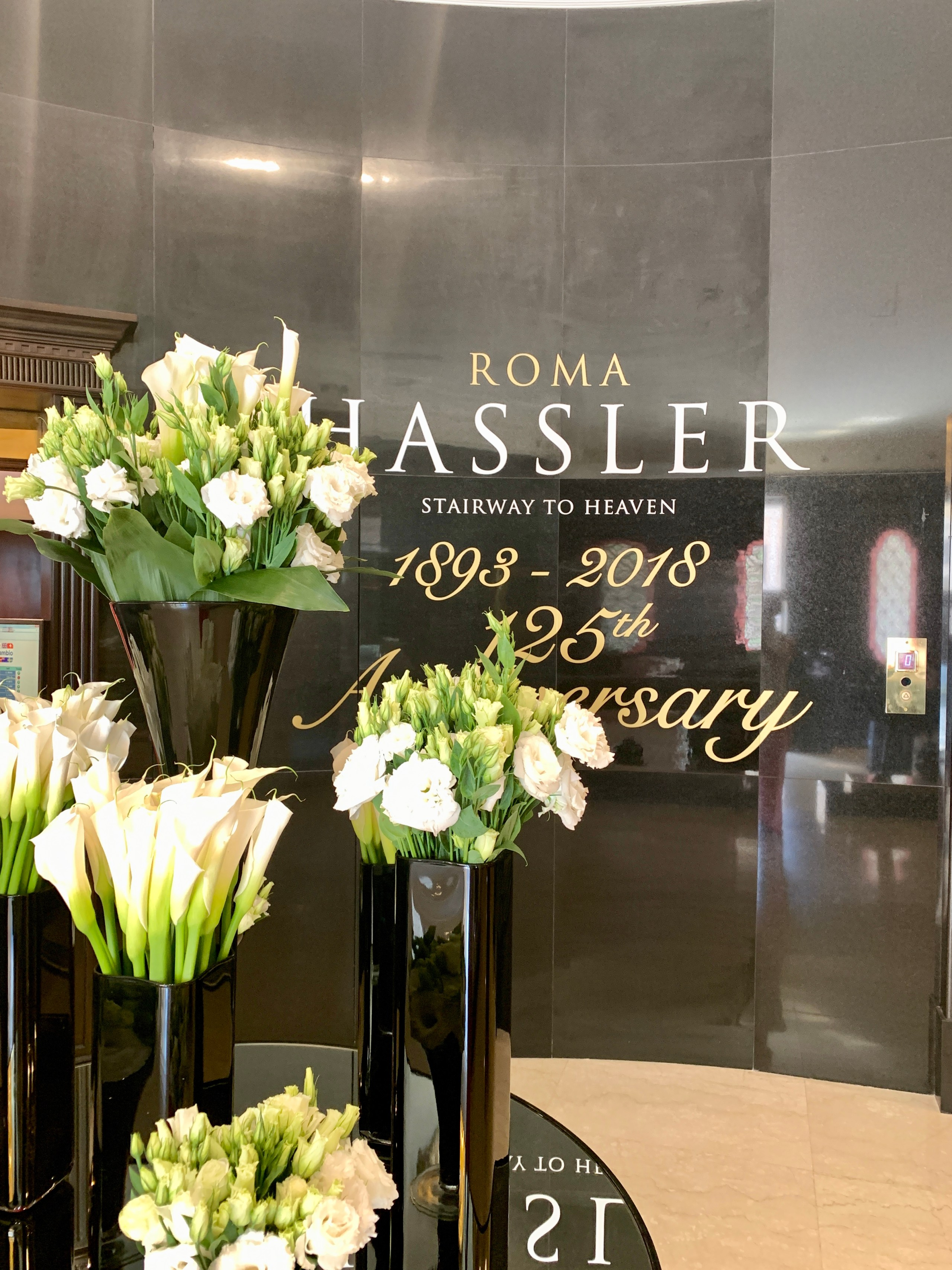 The Hassler Hotel Lobby